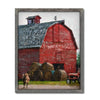 Personalized Country Gift - Red Barn Art Print from Personal Prints