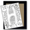 Monogram Coloring Page - H