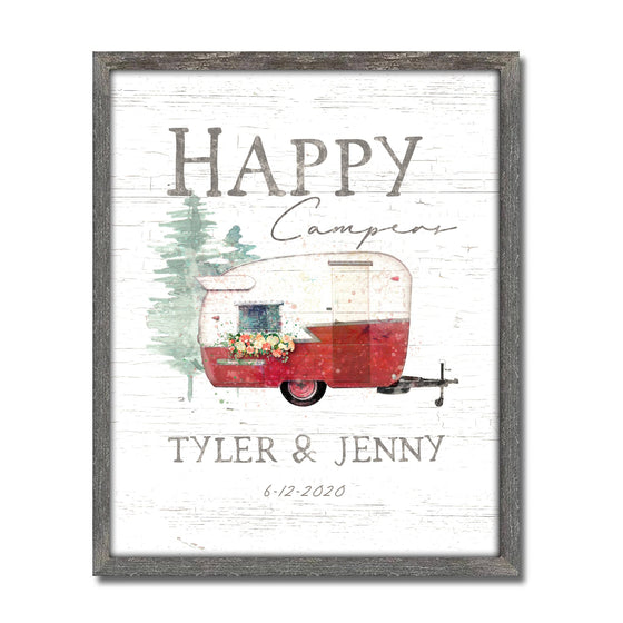 Happy Campers Canvas Art Decor