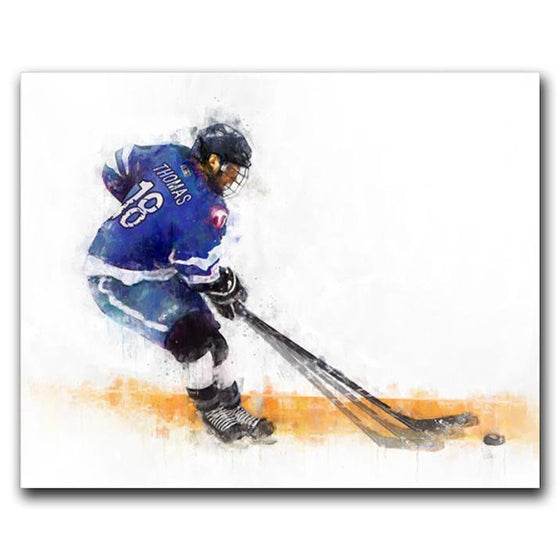 Personalized Hockey Gift from Personal-Prints