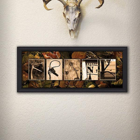 Hunting Name Art - Lifestyle