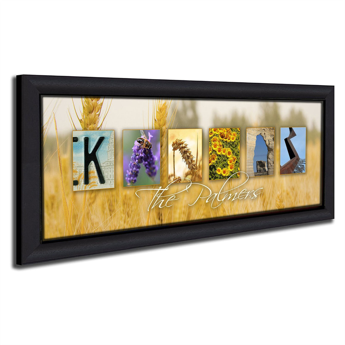 Kansas Wall Art | State Art | Personalized Art - Personal-Prints