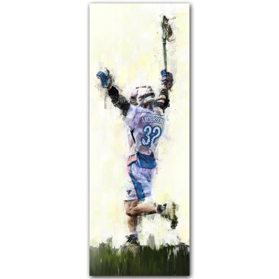 Lacrosse Personalized Print