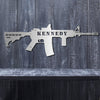 Metal AR15 M16 Sign