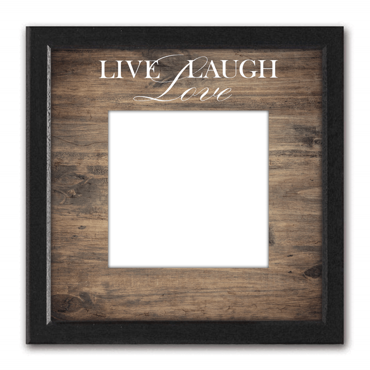 Personalized Photo Canvas Your Photo On Canvas Live Laugh Love Personal Prints