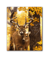 Rustic wildlife personalized art from Personal-Prints