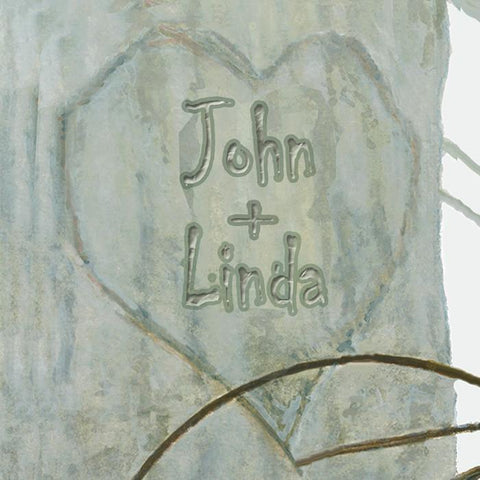 Love Is In The Air Personalized Art Detail