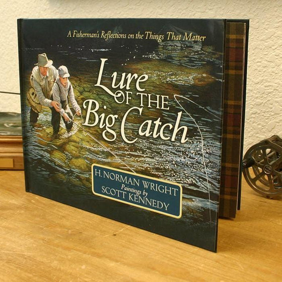 Book on fishing Gift book - Lure of the Big Catch