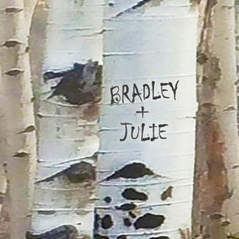 Personalization Detail of Names on Tree