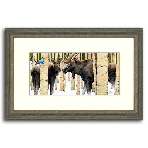 Moose Tracks - Original Personalized Painting