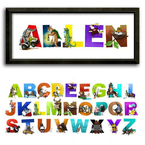 Personalized Name Print for Kids