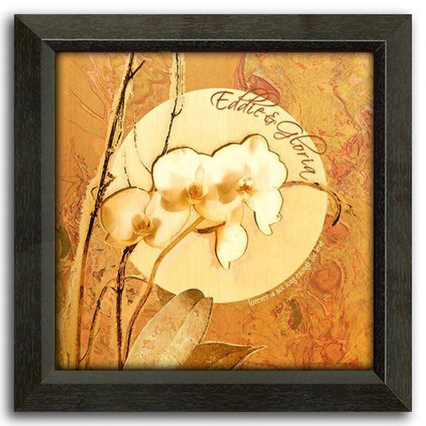 Orchids2 - Framed Canvas