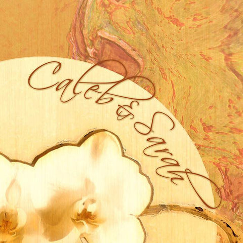 Orchids Personalized Art Detail