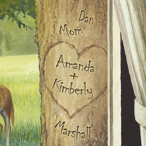 Our Country Getaway Personalized Art Detail