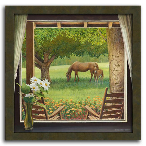 Our Country Getaway - Framed Canvas