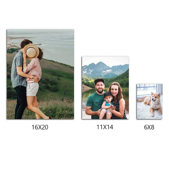 Your Photo Printed and Mounted to Wood- Size Options