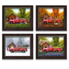 Red Truck - Set of 4 Seasons