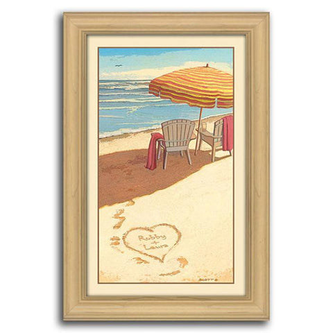 Sea Breeze - Framed Canvas