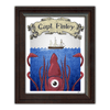 Kids room wall art - Framed sea monster print from Personal-Prints