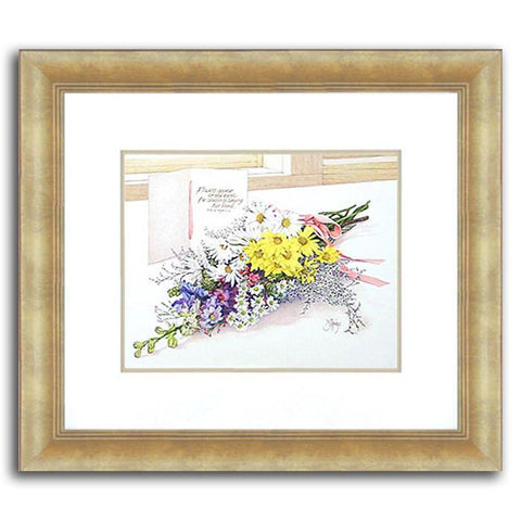 Spring Bouquet - Original Watercolor Painting