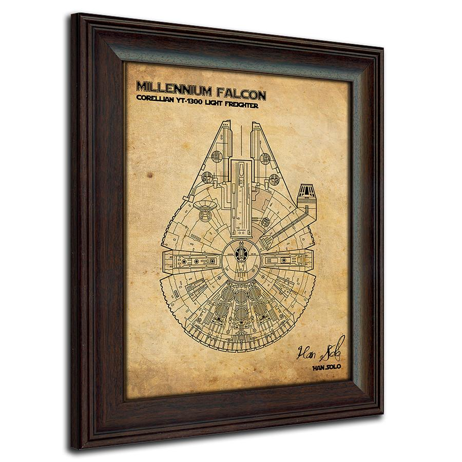 Star Wars Blueprint Poster - Hang Star Wars Patents In Your Home ...