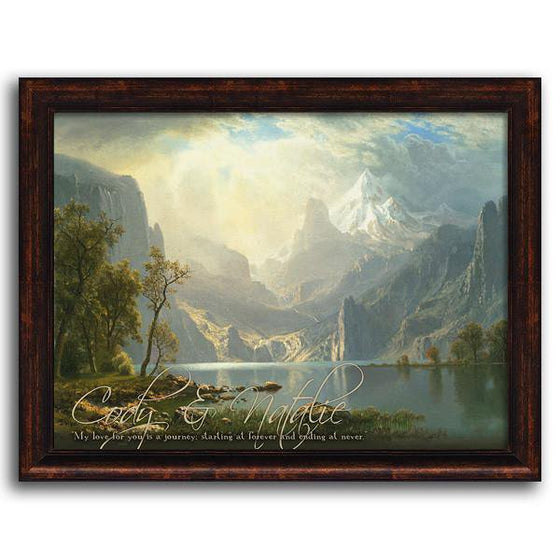 Personalized art landscape painting - Personal-Prints