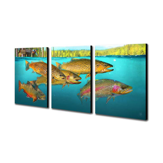Wild Trout - Personalized Art Gift