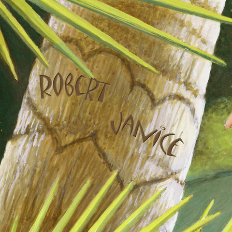 Tropical Paradise Personalized Art Detail