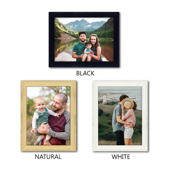 Get Your Favorite Photos Professionally Framed and Printed on canvas- Frame OPtions
