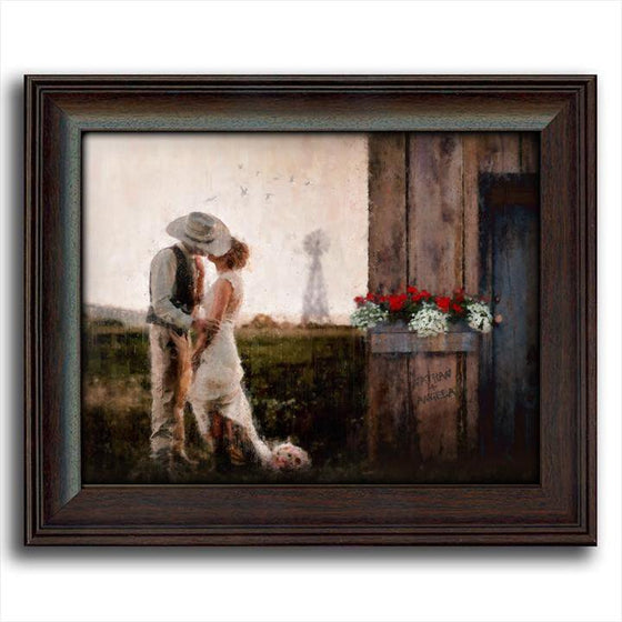 A Country Western Romance - Personalized Gift