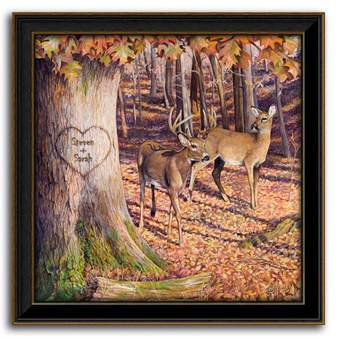 Whitetail Sunrise - Personal Print for the outdoorsman