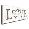 Personalized LOVE romantic art decor including yours and your partner's names