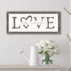 Whitewash wood romantic valentine's day or anniversary gift for your loved one