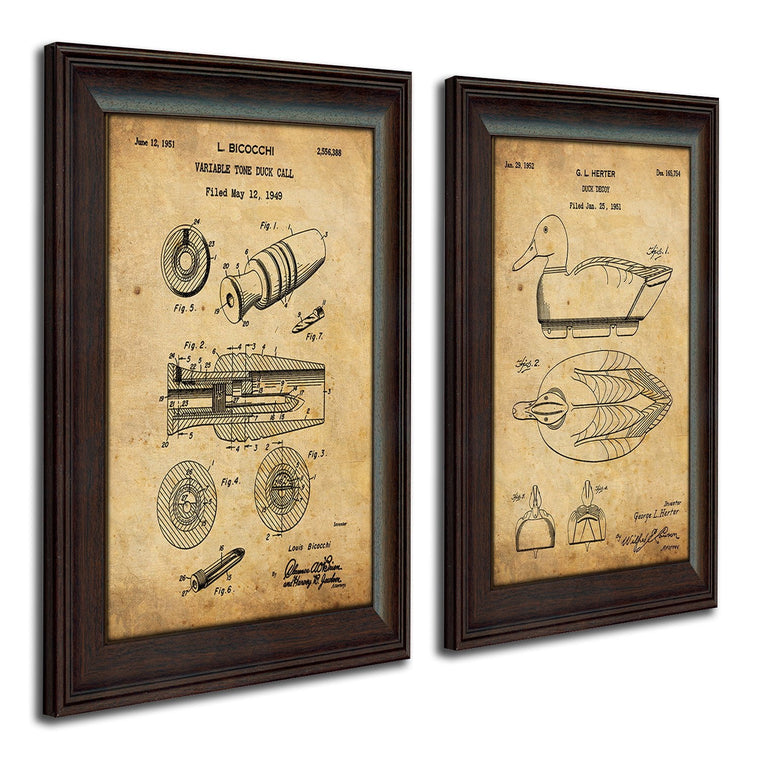 Duck Hunter - Patent Art Set