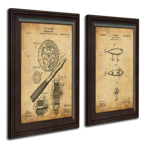 Fishing - Patent Art Set