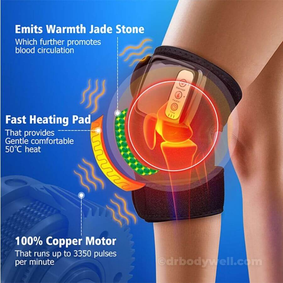jointheal knee shoulder elbow ankle pain relief heated massage drbodywell functioning