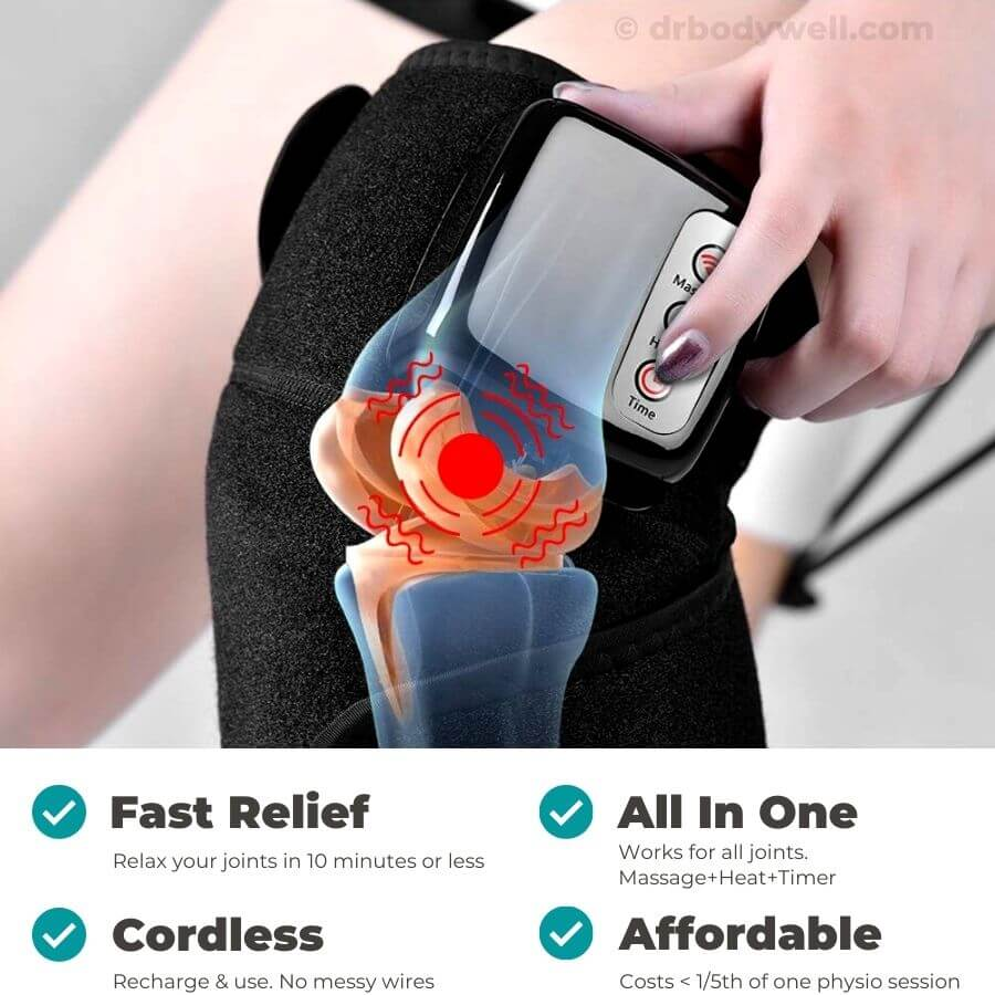 jointheal knee shoulder elbow ankle pain relief heated massage