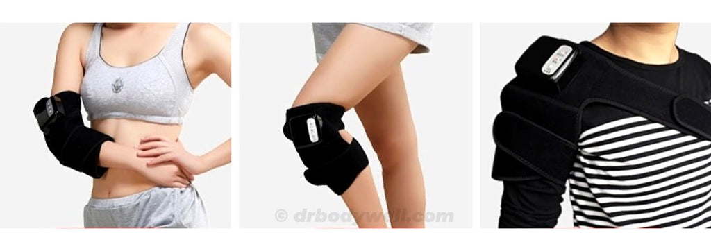 jointheal knee shoulder elbow ankle pain relief heated massage drbodywell