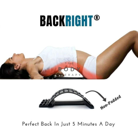 Backright® Lumbar Relief Back Stretcher Backright (Non-Padded)