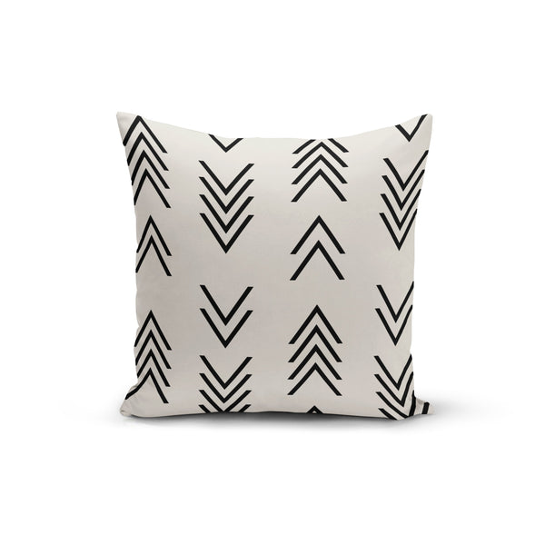 Modern Arrow Top Pillow Cover