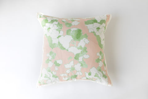 The Floral Bisque Pillow