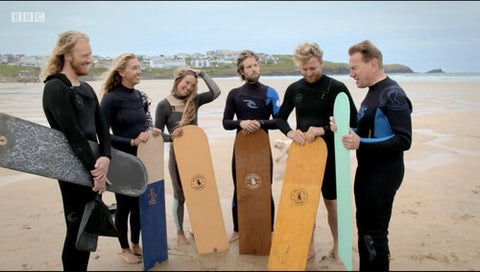 Dick Pearce Bellyboards on the BBC