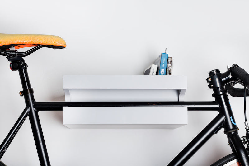 Amsterdam wooden bike shelf from Twonee