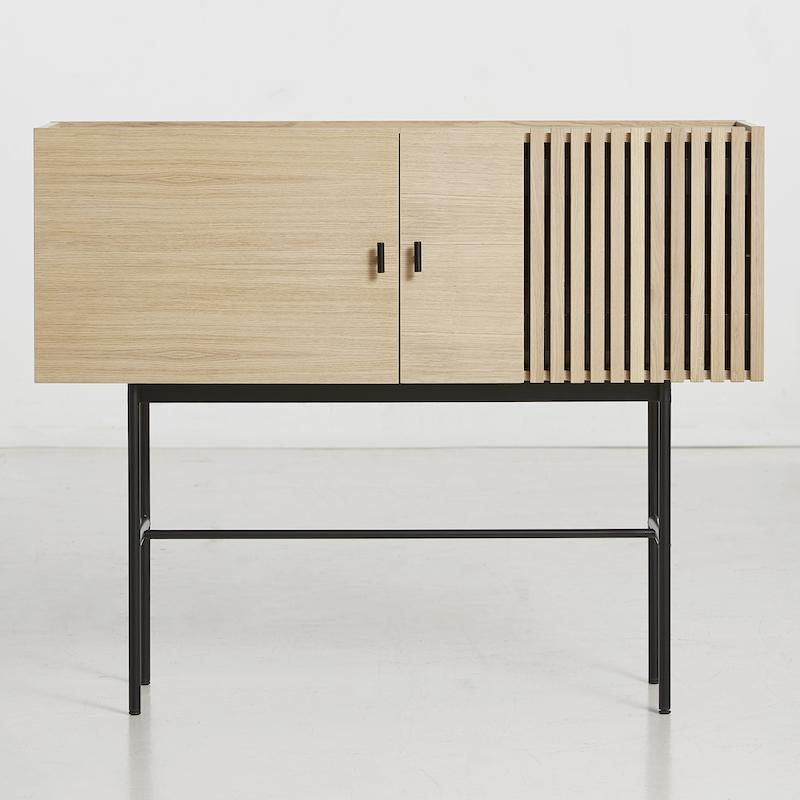 Array sideboard in oak from the danish company WOUD