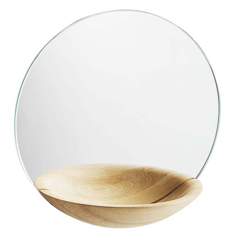 Small Pocket mirror in wood from WOUD