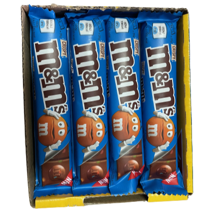 M&M'S CRISPY SINGLE BAR 34GR (CONF.24)