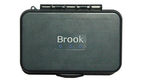 The Brook Box (Silicone Insert Fly Box)