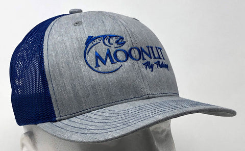 Moonlit Fly Fishing Trucker Hats