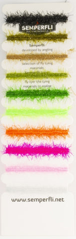 Semperfli Straggle LEGS Multicard Mix Pack