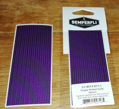 Semperfli Purple Perfect Quills (Synthetic Quills)